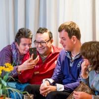 30 oktober 2015, Alkmaar - De Drogerij is een activiteitencentrum in ALkmaar voor (jong) volwassenen met grnze. Deelnemers komen uit MLK en LOM onderwijs.